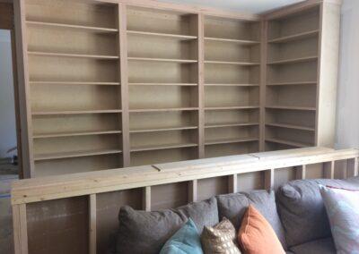 crestridge raw bookcases